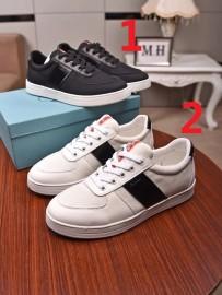 プラダ靴コピー 2020新品注目度NO.1 PRADA メンズ カジュアルシューズ 2色