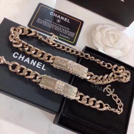 Chanelシャネルネックレスペンダントスーパーコピー两件套