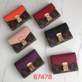 6色/ 13CM/ LOUIS VUITTONルイヴィトン財布スーパーコピーM67478