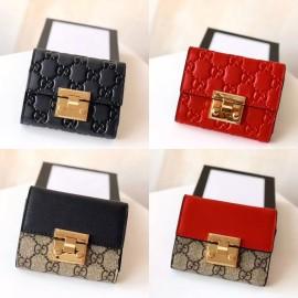 4色/ 11cm/ Gucciグッチ財布スーパーコピー455658/453355