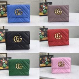 6色/ 12cm/ Gucciグッチ財布スーパーコピー474802