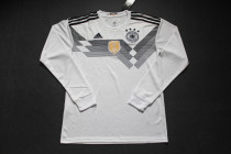 Long sleeve 2018 Germany home soccer jersey