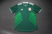 Player version 2018 Mexico home soccer jersey