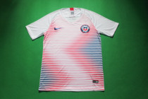 18-19 Chile white soccer jersey
