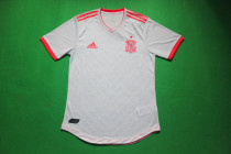 player version 2018 Spain away soccer jersey