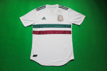 player version 2018 Mexico away soccer jersey