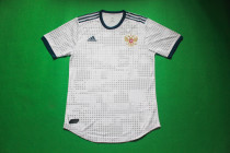 player version 2018 Russia away soccer jersey