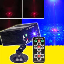 Rotate Light Bulb Crystal LED Effect Projector Stage Light Xmas Christmas Party