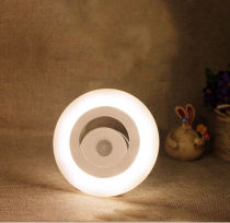 0.7W Photosensitive Body Induction LED Night Light Adhesive hall Wall Lamp Gift