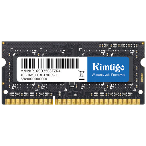 kimtigo DDR3 SoDIMM ( for laptop ) 1600 4GB