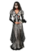 Super Deluxe Bone Yard Bride Costume