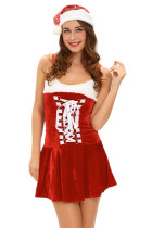 Holiday Buckles Lingerie Costume