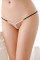 Black Sultry Pearl Trim G-string