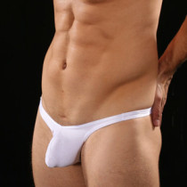 White Sling Shot G Mens Sexy Underwear