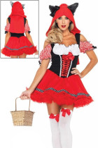 The Sexy Red Riding Wolf Womens Costume
