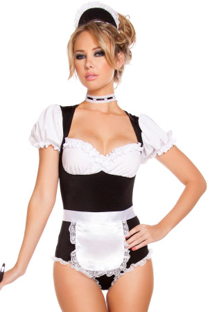 Foxy Cleaning Maid Costume