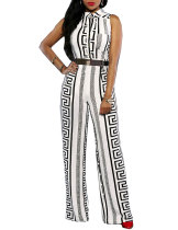 Sexy Deep V Sleeveless Bodycon Rompers Club Jumpsuit