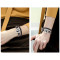 New Design Real Leather Tree of life Bracelets women Essential Oil Diffuser Aromatherapy Locket Bracelets for Women