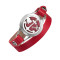 Red double leather bracelet Love your body Heart anchor locket Valentine's Day diffusser gift bracelets for Girlfriend