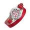 Red leather bracelet Essential Oils Tree of life locket stainless steel pretty lady diffusser gift bracelets for women