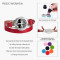 Tree of Life bracelets For Daughter Double wrap Red Genuine leather diffuser Valentine's Day gift Girlfriend Wholesale