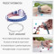 Denim leather bracelet Aromatherapy Jewelry health locket Love your body Young girl Diffusers Blue bracelets for women