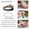Leather Bracelets Perfume Essential Oil Diffuser Locket Bracelet for lovers' stainless steel friendship bracelet