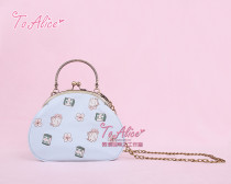 To Alice*Majiang rabbit embroidery lolita handbag