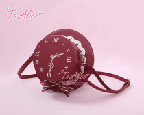 To Alice*Time travel british style  hat straddle shoulder bag