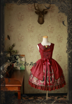 Siren's Song~Print Gothic Lolita jsk dress