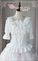 Son of the wind~Cotton+Lace Sweet Lolita Blouse