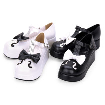 【 Angelic imprint】Note decoration Lolita Platform Shoe
