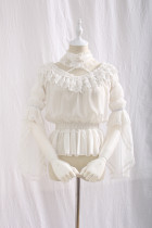 Miss lolo ~Sweet Lolita Blouse with Neck Strap~Pre-order Closed