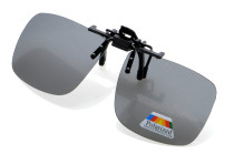 Large Polarized Lens Flip up Sunglasses Clip on F69