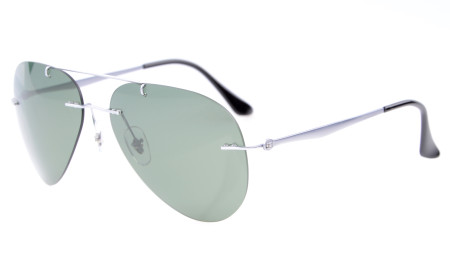 Titanium Rimless Polarized Sunglasses S1508-Polarized