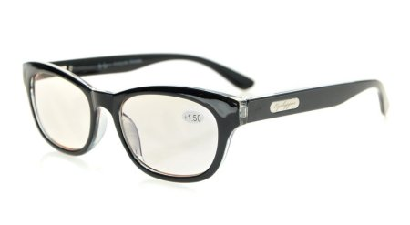 Computer Reading Glasses UV Protection Reduce Glare Spring Hinge Tinted Lens CG120