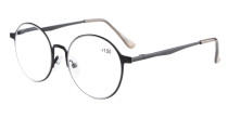 Reading Glasses Quality Spring Hings Retro Round Readers R15044