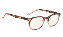 Computer Glasses UV Protection Tinted Lenses Vintage Women Tortoise-Red CG065