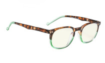 Computer Glasses UV Protection Tinted Lenses Vintage  for Women and Men CG065-Green