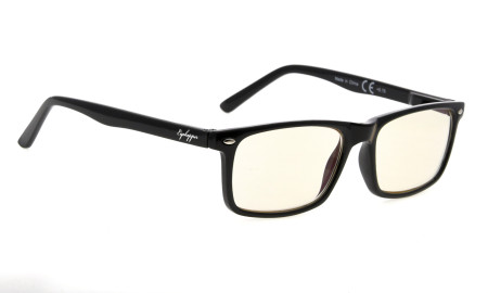 Computer Glasses UV Protection Tinted Lens Stylish Women Men Black CG899