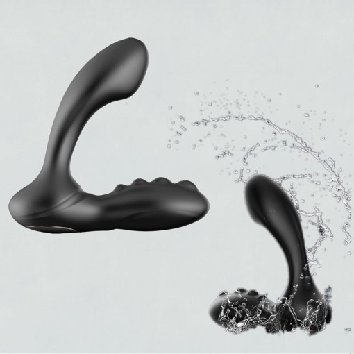 Man's prostate gland G-spot Orgasm, electric anal plug, prostate gland massager, double head vibration, Wireless, Waterproof,R echargeable, for Man Couple