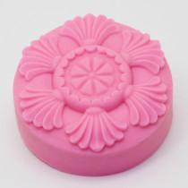 Flowers Craft Art Silicone Soap Mold Craft Molds DIY Handmade Soap Molds AQ014