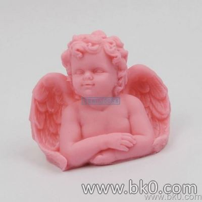 BJ021 3d Silicone Mold Soap Mold Angel Candle Molds Handmade Cute Baby Diy For Cake Decorations