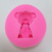 BM005 Bear Silicone Animal Candle Soap Molds Decorative Resin,Clay Crafts Moulds