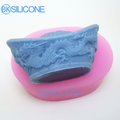 Silicone Mold 3D Chinese Style Happniess Mould AO010