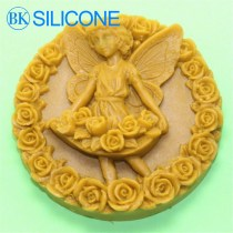 Angel Rose Silicone Soap Mold Craft Molds DIY Handmade Soap Moulds AK002