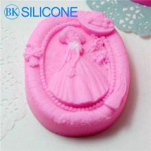 Angel Silicone Soap Molds Chocolate Cookie Mould Cake Decorating Tools AF019