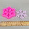 BK1098 Winter Snowflake Silicone Mold - Cupcake Topper, Sugarcraft, Cookie Biscuit Mold, Polymer Clay Mold, Candle Mold
