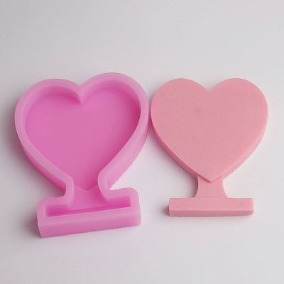 BD009 3D Heart Shape Silicone Mold Chocolate Cake Cookie Sweet Cake Tools Candle Mold Wholesale