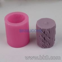 BK008 3d silicone candle molds Resin Clay Mold Cake Decorating Tools